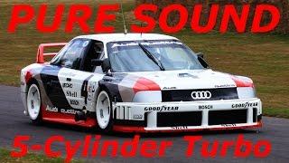 720 HP Audi 90 Imsa GTO 2,2l - INSANE PURE SOUND compilation
