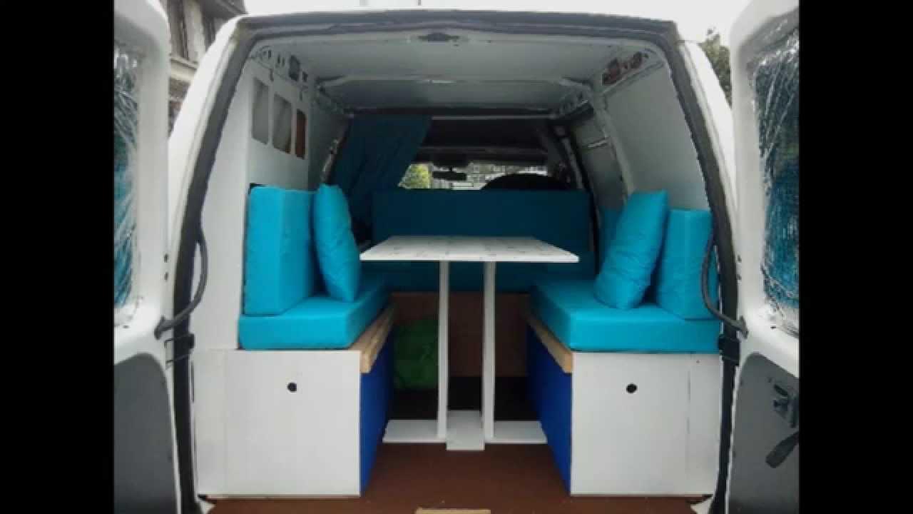 Fiat scudo camper van english version youtube for Kit trasformazione furgone in camper