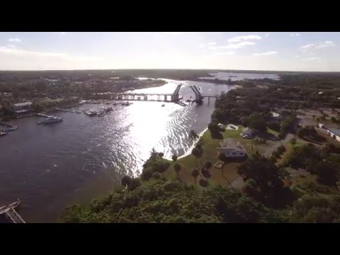 Intracoastal Waterway Aerial Video