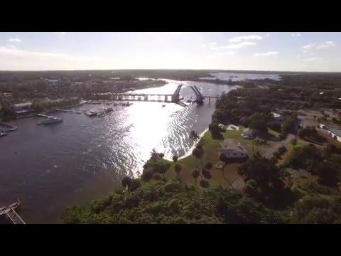 Intracoastal Waterway Aerial Video