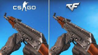CrossFire vs CS:GO - Weapon Animations & Sounds [Comparison]