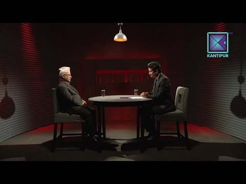 Madhav Kumar Nepal in TOUGH talk with Dil Bhusan Pathak-