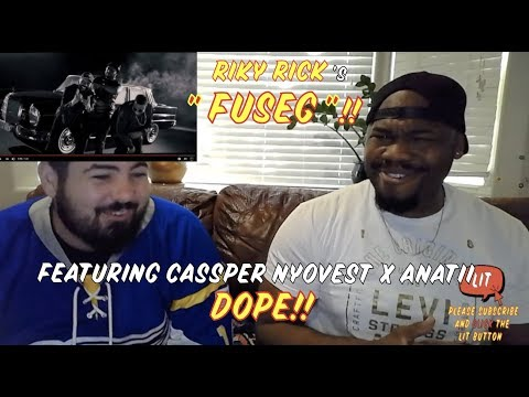 Ricky Rick x Cassper Nyovest x Anatii  - FUSEG ( Music Video ) ( Thatfire Reaction )