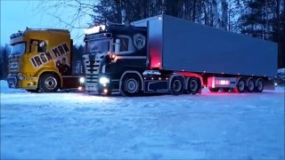 RC Trucks GR8 Transport ON ICE 2016