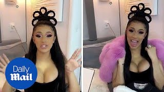 'I want this s*** for me!' Cardi B shows off amazing gifts for her baby