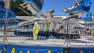 Bates Bros Amusement Mega Bounce At The 2018 Orrville 4TH Of July Festival