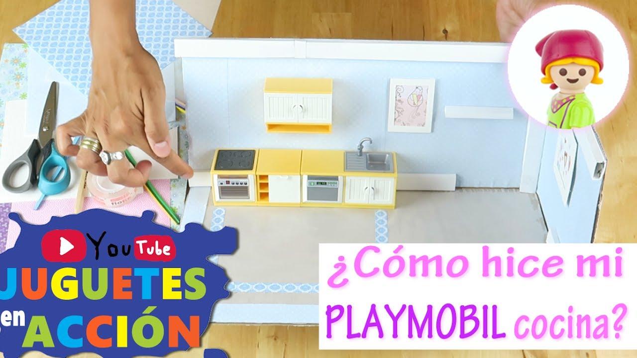 Playmobil en espa ol aprende a hacer tu propia cocina for Construir tu propia casa