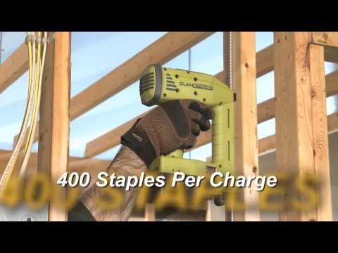 QuikStrap™ Cordless Cable Stapler