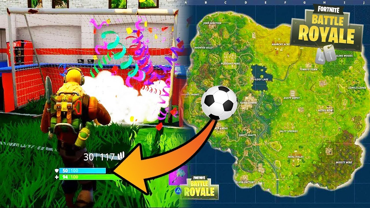 youtube premium - soccer pitch locations fortnite