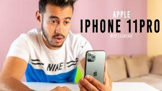 مراجعة iPhone 11Pro هاتف بتلات عدسات