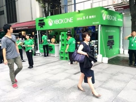 XBOX ONE 24 HOUR JAPAN LAUNCH WAS A FAIL! NO JAPANESE GAMES