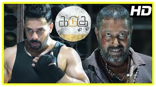 Kadugu Movie Climax Scene | Bharath realises his mistake and stabs the minister | End Credits