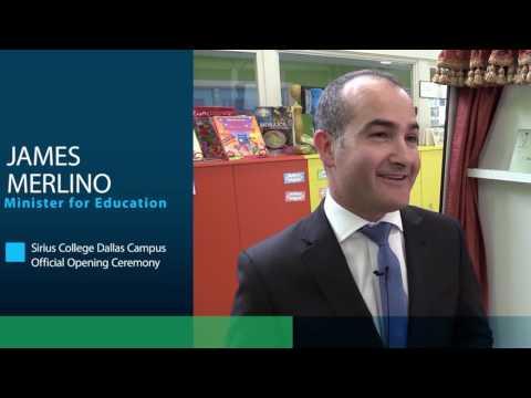 James Merlino Dallas Campus Opening Ceremony
