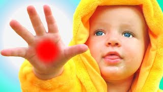 Бу бу ай болит и другие детские песни. Песни для детей от Кати и Димы