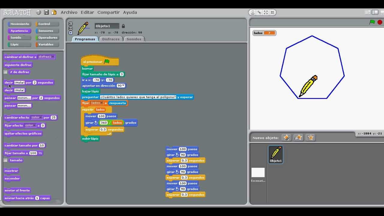 Prctica 51 Construccin de figuras geomtricas  YouTube