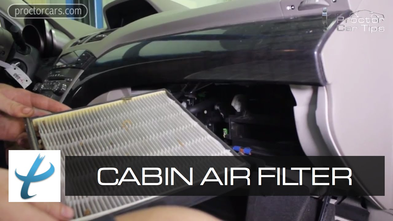 Whatu0027s A Cabin Air Filter (Pollen Filter) And When Should You Replace It? U2014  Car A/C Maintenance