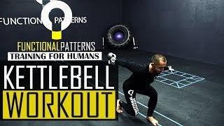 Kettlebell Swing Matrix Workout Routine