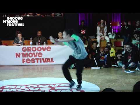GROOVE'N'MOVE BATTLE 2017 - 1/4 Final All Style - Sheila & Goku vs Fiona et Osee
