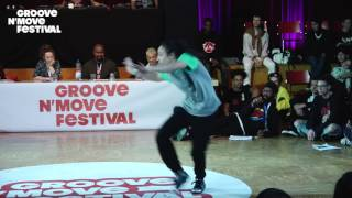 GROOVE'N'MOVE BATTLE 2017 - 1/4 Final All Style - Sheila & Goku vs Fiona et Osee