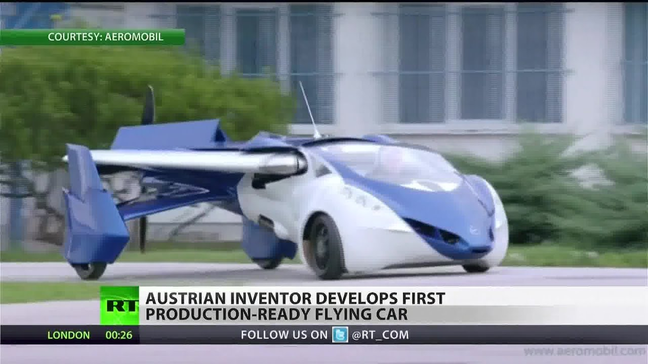 Flying Car Takes To The Skies For Testing