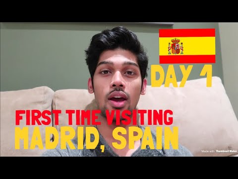 TRAVEL VLOG: Welcome to MADRID   SPAIN   DAY 1