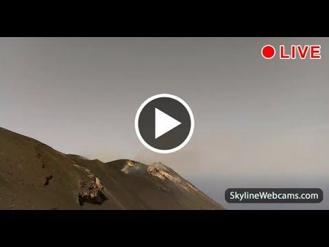 Live Webcam from the Volcano Stromboli in Sicily YouTube