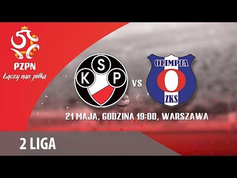 2 Liga: Polonia Warszawa - Olimpia Zambrów
