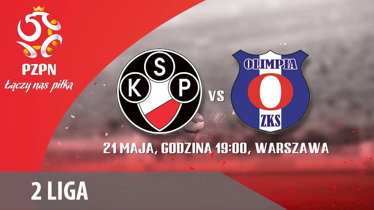 0ebec6d66 2 Liga: Polonia Warszawa - Olimpia Zambrów - YouTube
