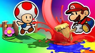 Paper Mario Color Splash #6 - Wii U - Gameplay em Português PT-BR