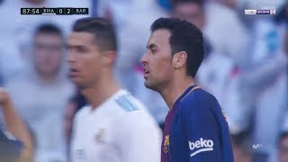 Sergio Busquets vs Real Madrid - Amazing as Always (23/12/2017)