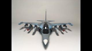 """Yak-130 """"Zvezda"""" 1/72 scale   Video build"""