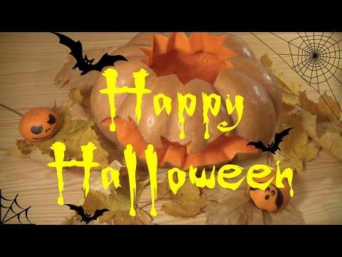 Вырезаем тыкву для Хэллоуина