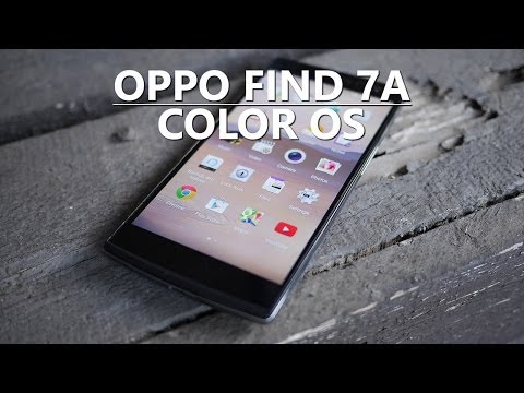 Oppo Find 7a: Color OS