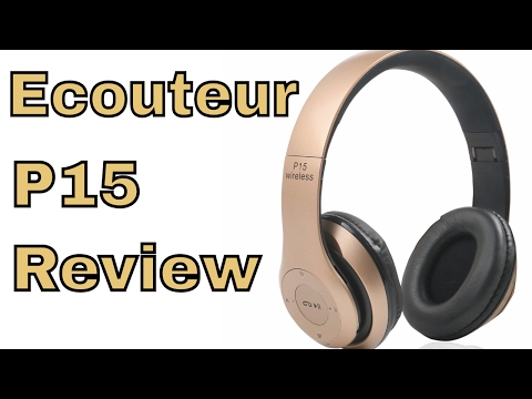 Ecouteur Sans fil P15 Pliable avec Microphone Bluetooth Fm Radio Francais Review ThinkUnBoxing