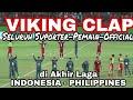 Pasti Merinding..! Saat Seluruh Pemain, Official Viking Clap bersama seluruh Suporter di akhir laga
