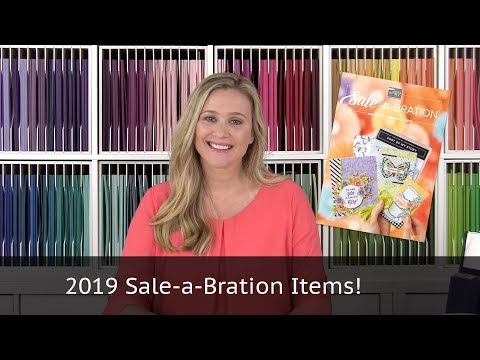 Stampin' Up! SALE-A-BRATION 2019