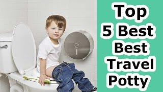 Best Travel Potty 2017 - Top 5 Travel Potty Reviews!