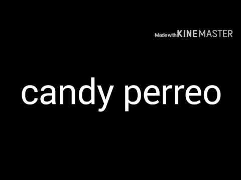CANDY PERREO- Dj peligro & Dj kelvin (letra)