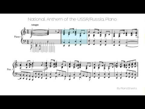 National Anthem of the USSR/Russia [Piano Solo]
