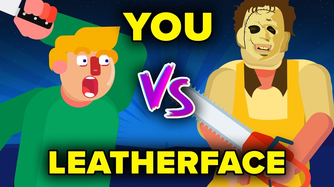 YOU VS LEATHERFACE - How Can You Defeat and Survive It? (The Texas Chainsaw Massacre Movie)