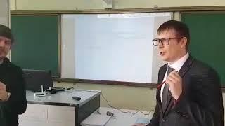 В процессе проведения второго открытого урока ШГП ЯНАО в г  Новый Уренгой
