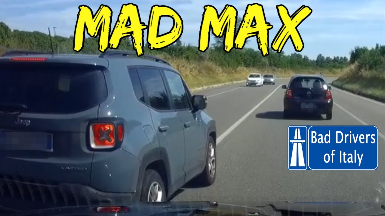 BAD DRIVERS OF ITALY dashcam compilation 06.30
