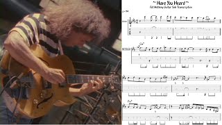 Pat Metheny - Hąve You Heard - Guitar Solo Transcription