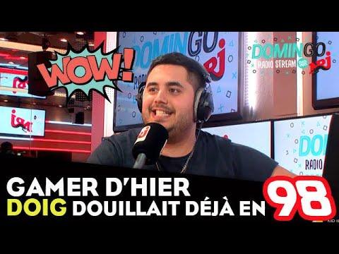 Gamer d'hier, Doig douillait déjà en 98 - DominGo Radio Stream sur NRJ