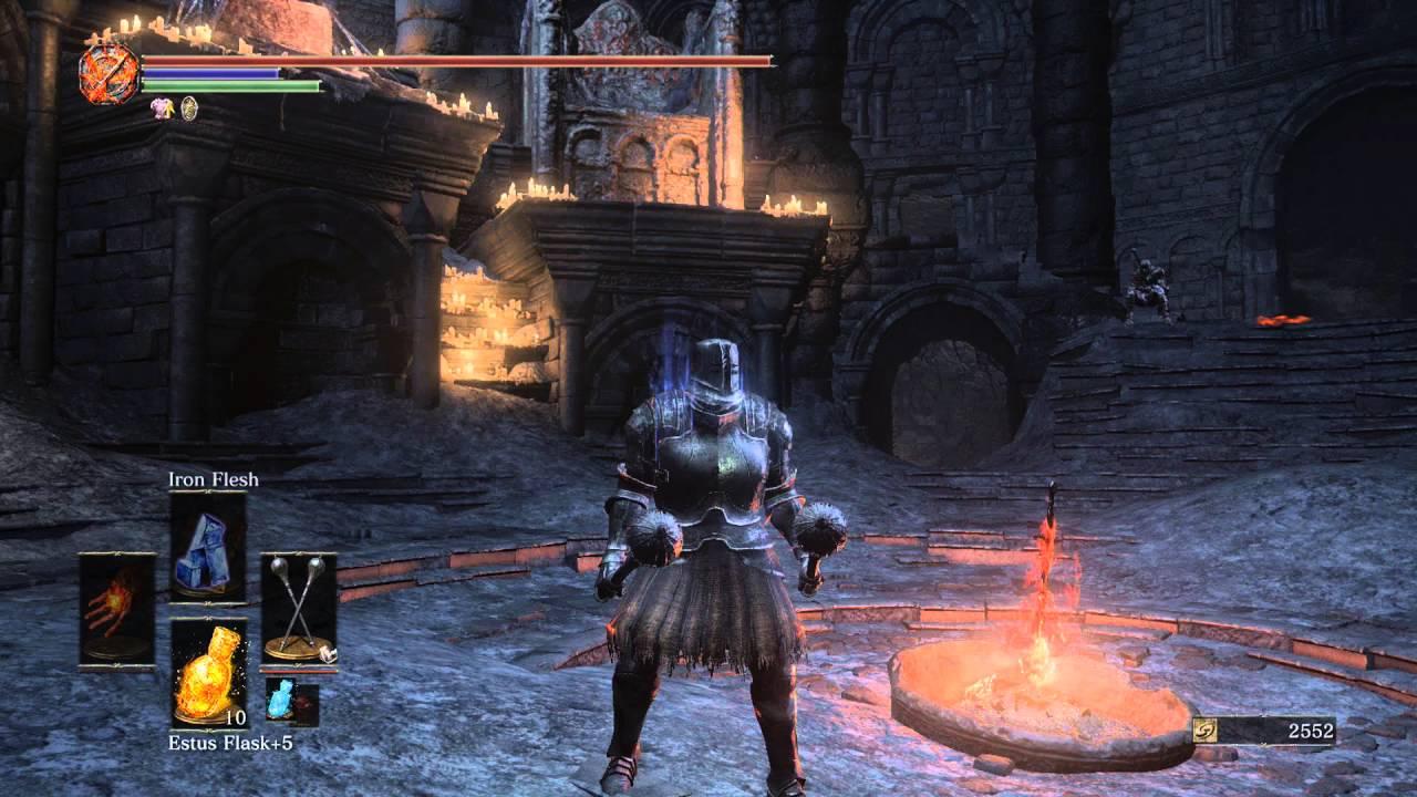 Dark Souls 3 Black Iron Set Youtube