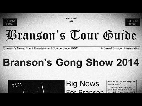 Branson's Gong Show - 2014