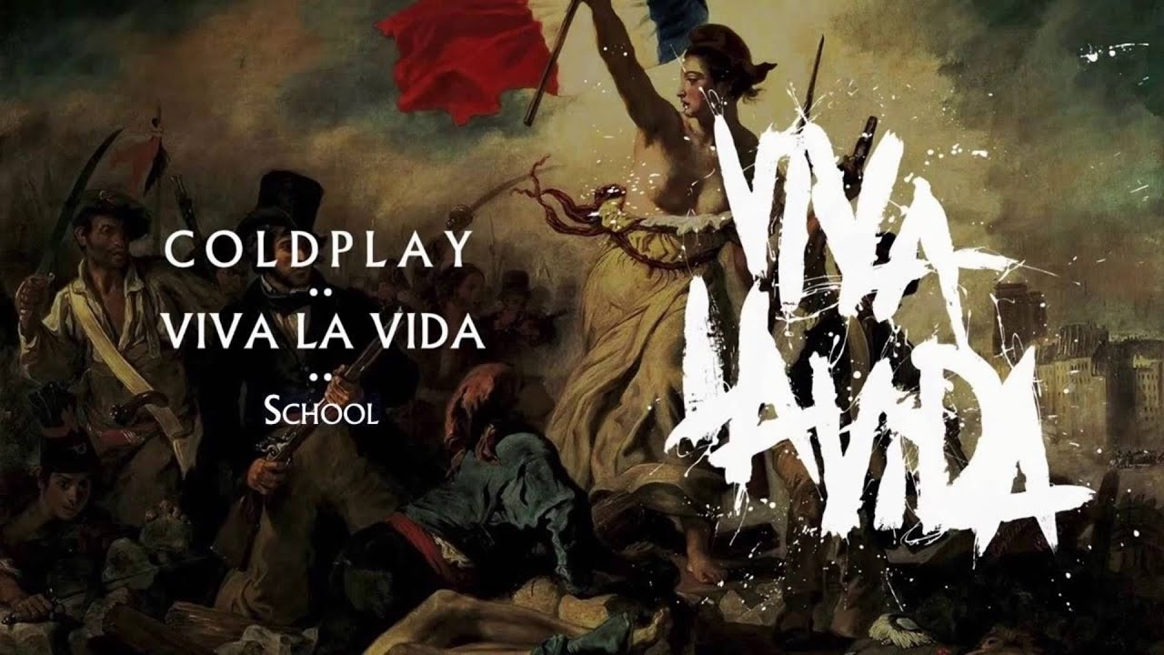 Old Paper Wallpaper Hd Coldplay School Viva La Vida Youtube