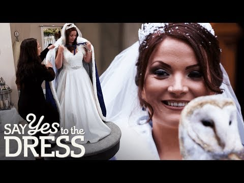 Bride Annoyed When Her Alterations Aren't Ready For Her Fitting | Say Yes To The Dress Lancashire. http://bit.ly/2JHxj9e