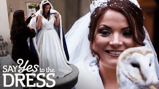 Bride Annoyed When Her Alterations Aren't Ready For Her Fitting | Say Yes To The Dress Lancashire