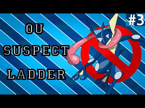 Pokemon ORAS OU Showdown Live: Greninja Suspect #3